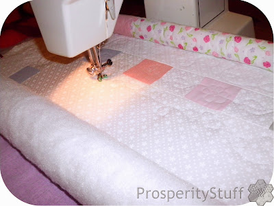 ProsperityStuff Quilting on a Flynn Multi Frame