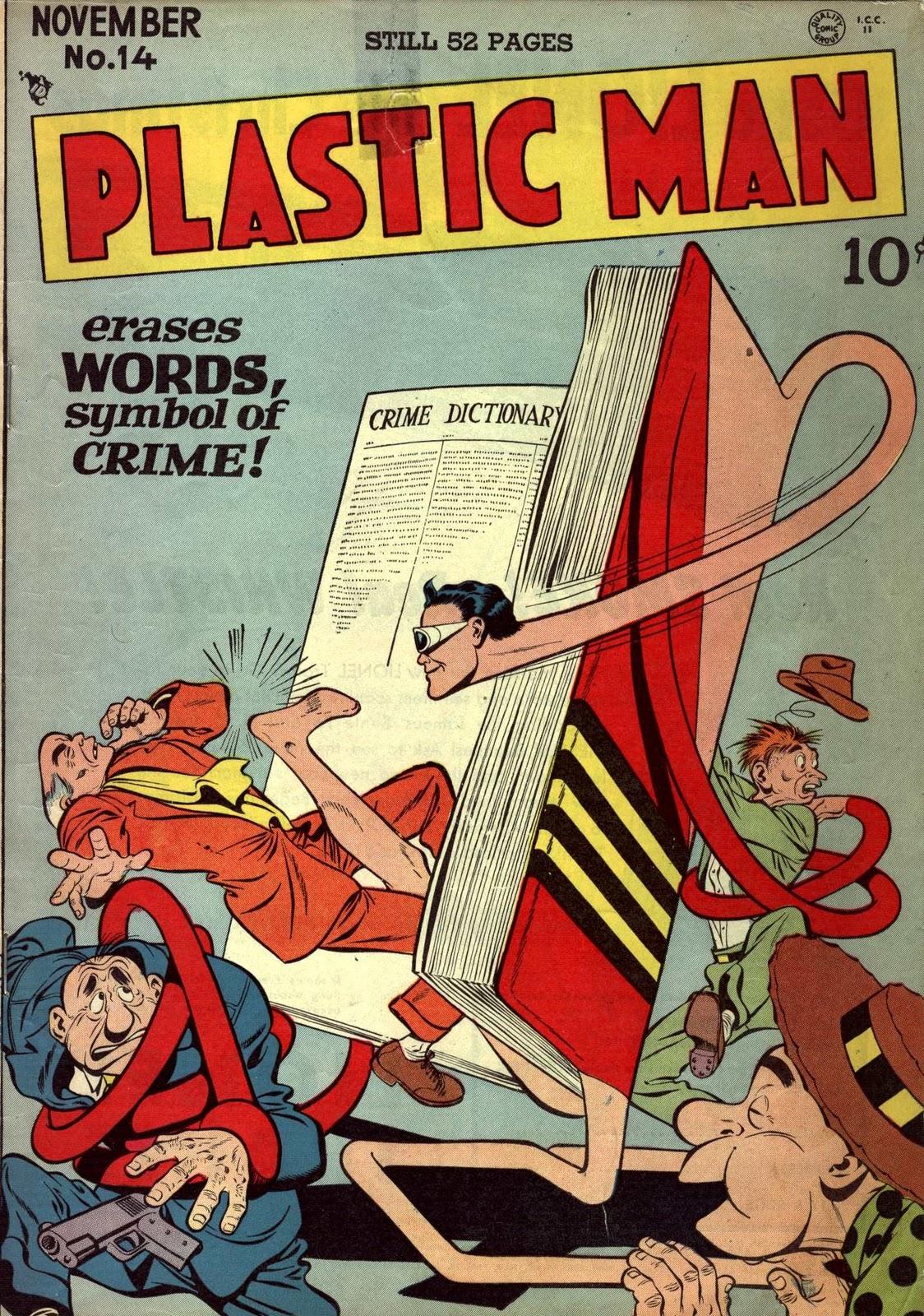Top 5 Funniest Superheroes - Plastic Man