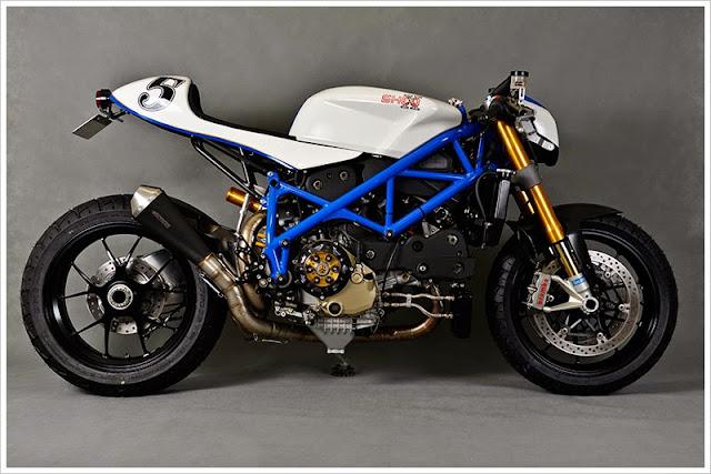 """Ducati 1098S - Phiên Bản Độ Mang Tên """"Malizia"""" của Shed X"""