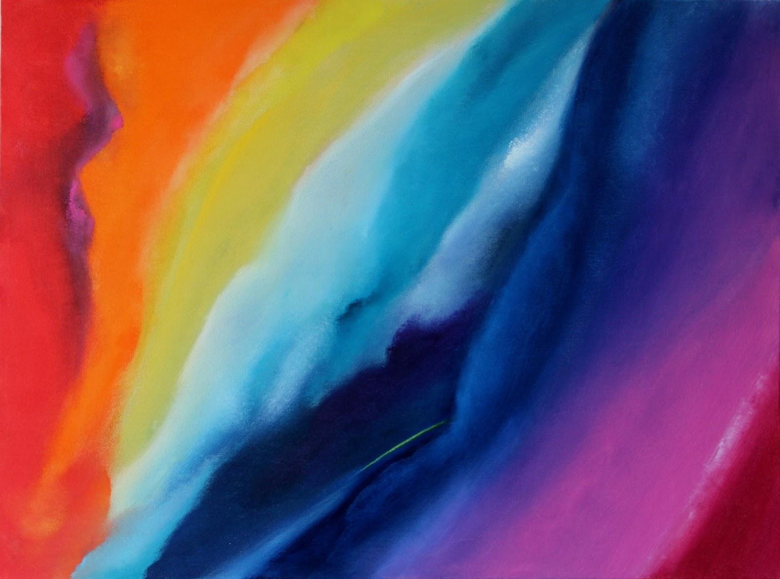 As novas formas e o novo colorido da arte abstrata de Elma Carneiro