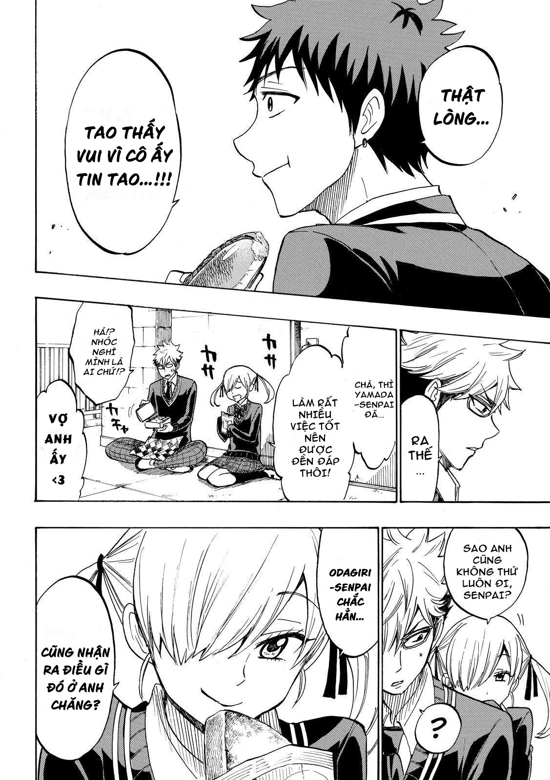 Yamada-kun to 7-nin no majo chap 174 Trang 7 - Mangak.info