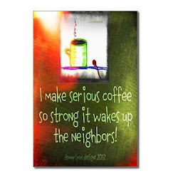 Funny Serious Coffee Quote Postcards