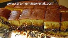 resep praktis (mudah) makanan kue martabak manis bandung spesial enak, legit, lezat