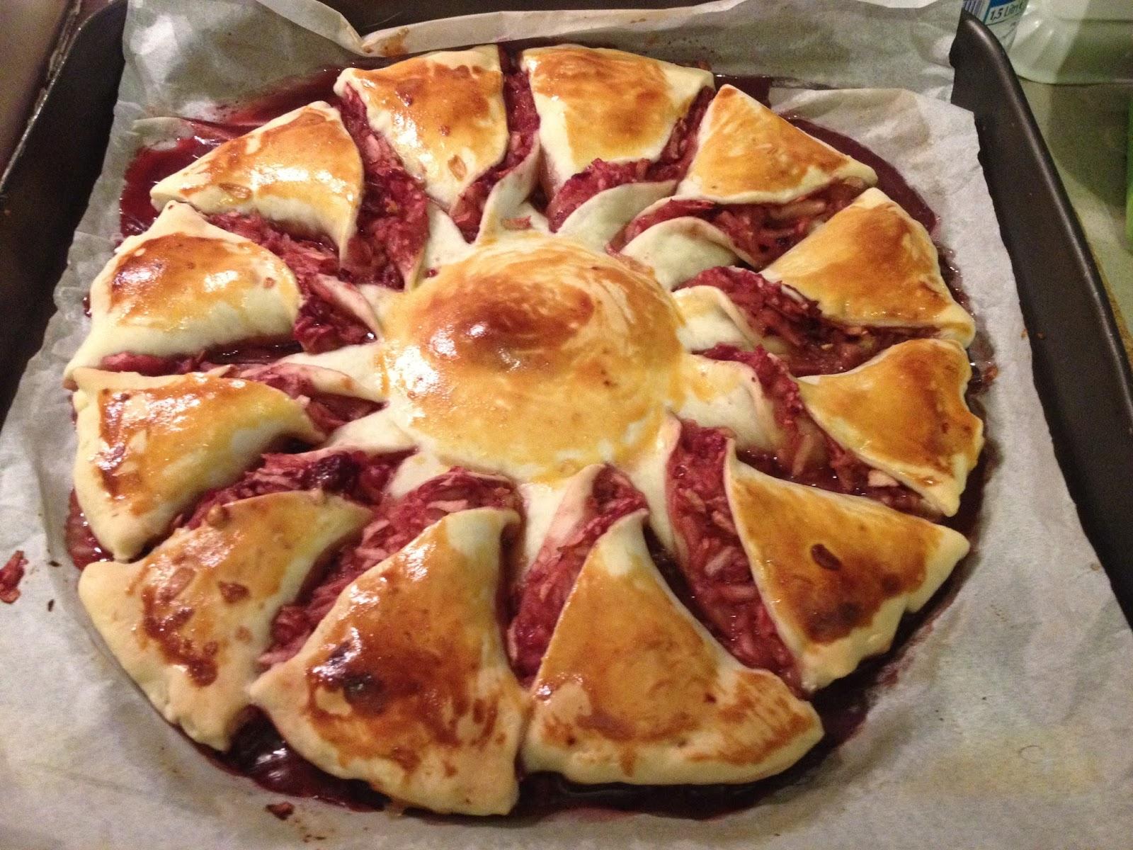 LA GAIA CUCINA DI PATTY...: Torta Fiore di mele e marmellata di ...