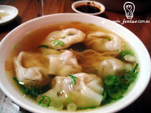 Vietnamese Won Ton Soup