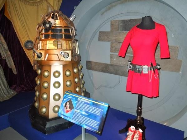 Asylum of the Daleks Doctor Who exhibit