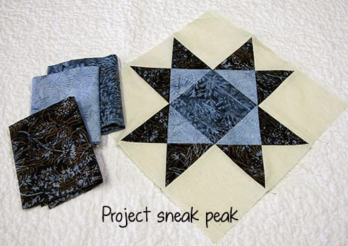 Sneak peek at Island Batik project at Freemotion by the River