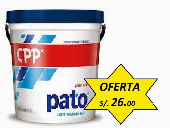 Pinturas CPP Látex Pato
