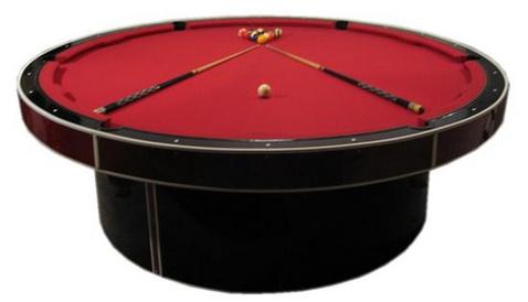 Kitchen design round table furniture designs - Table de billard moderne ...