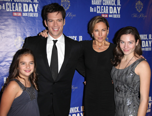 Harry Connick Jr Family 2014 Harry connick jr and his wife