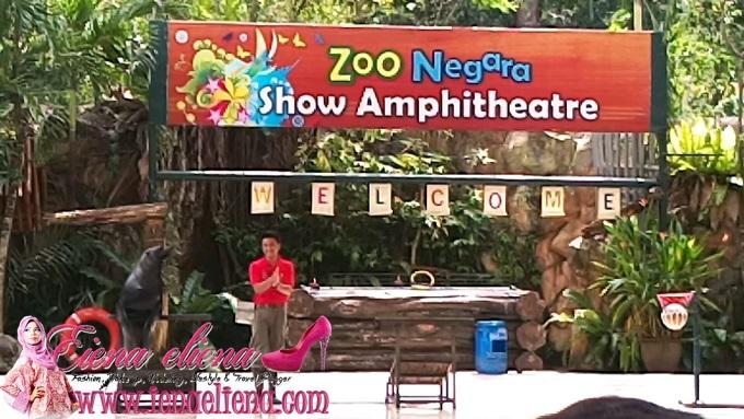 Pertunjukan Haiwan Zoo Negara