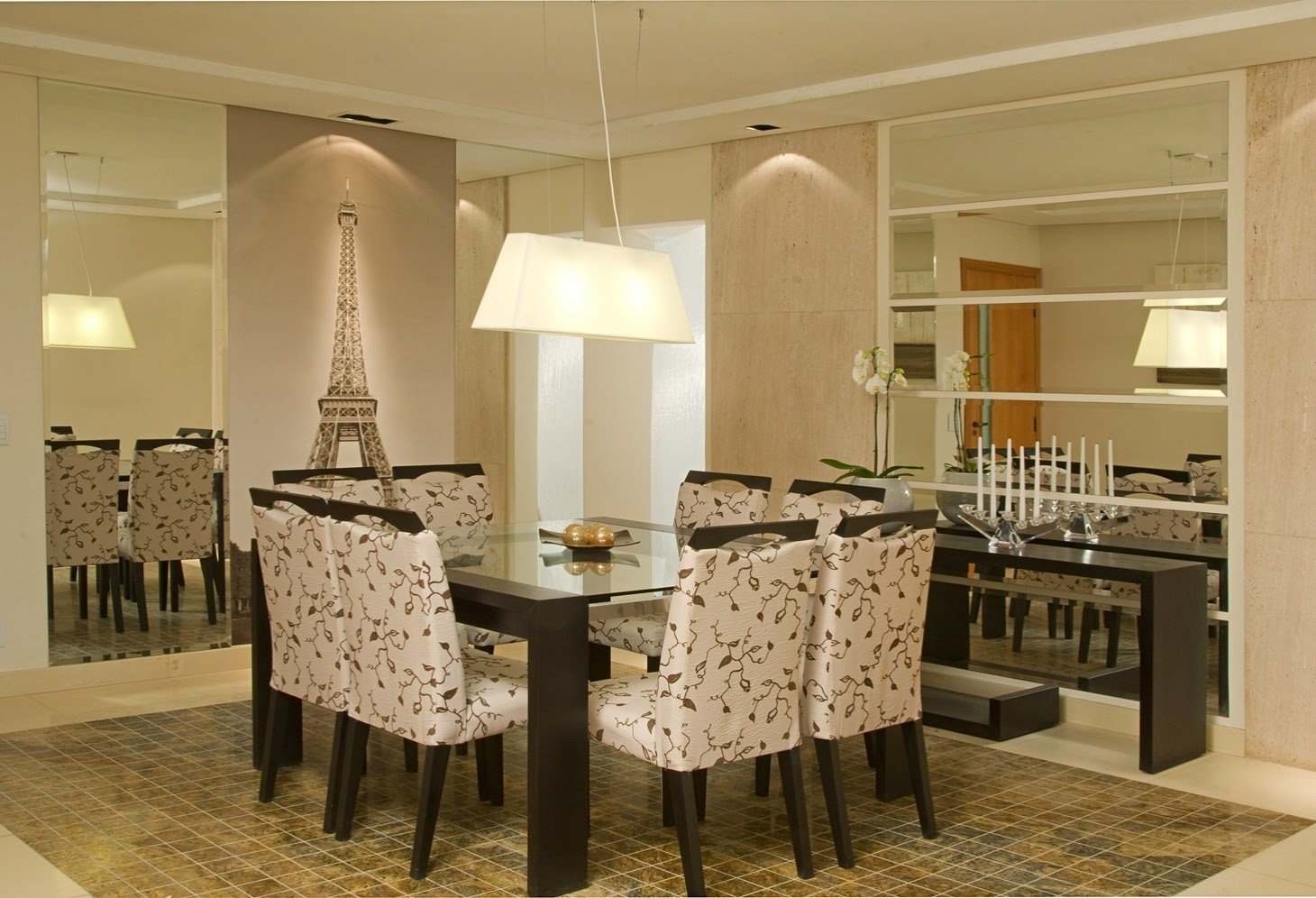Construindo Minha Casa Clean D Vida Da Leitora Renata Dantas Sala  -> Adesivo Sala De Jantar