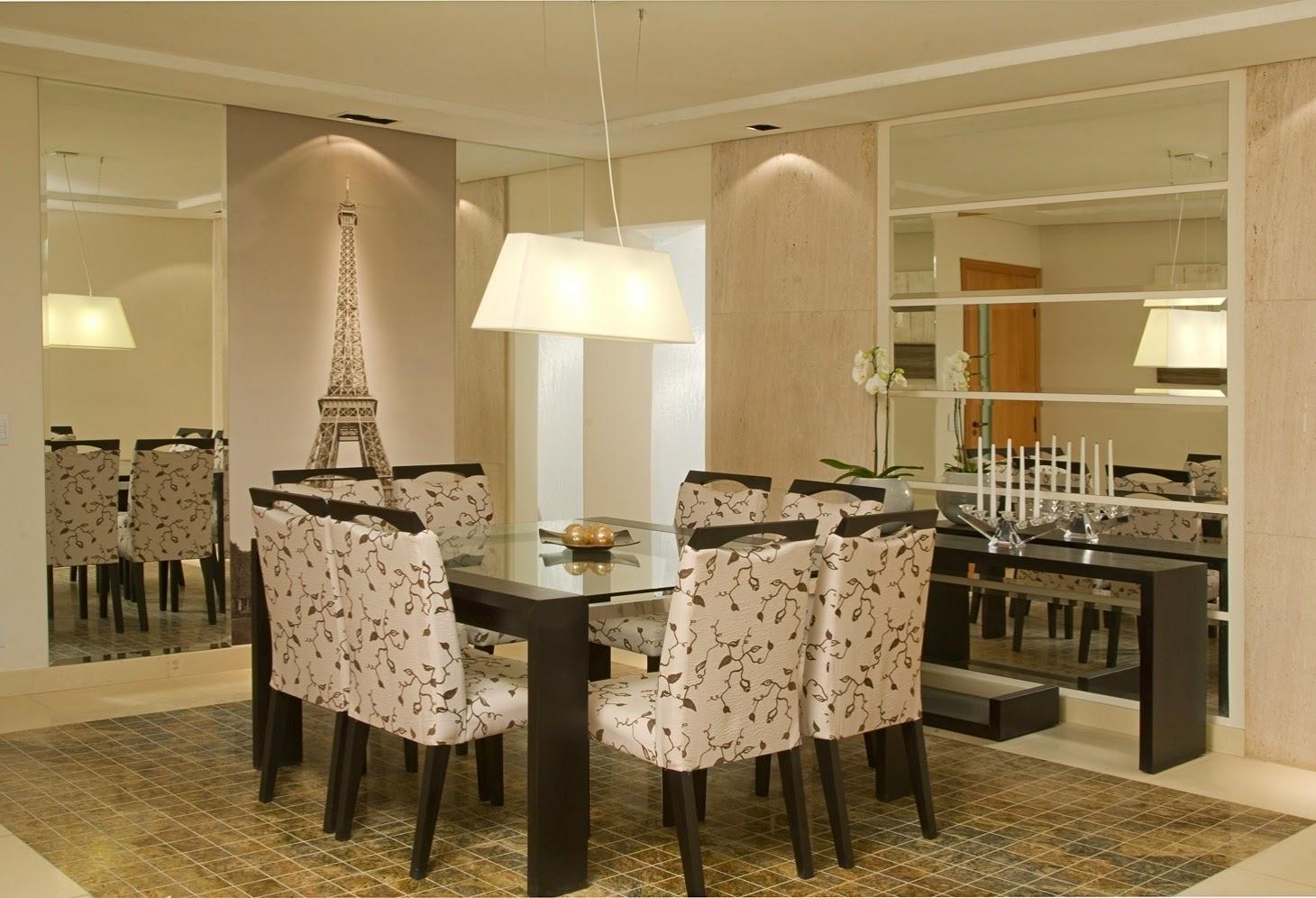 Construindo Minha Casa Clean D Vida Da Leitora Renata Dantas Sala  -> Sala De Jantar Pequena Com Mesa De Marmore