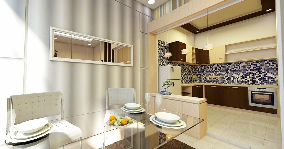 jasa desain apartemen dan ruko gambar dapur kecil
