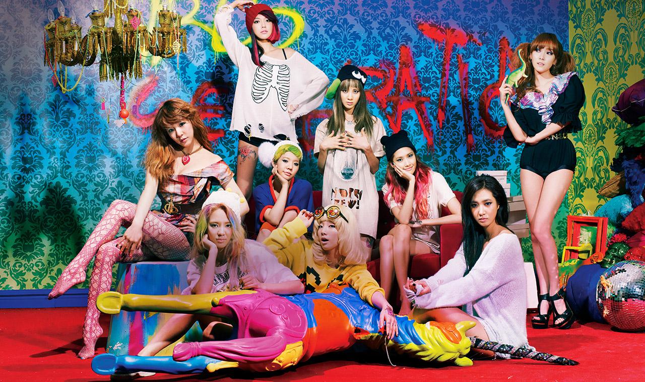 K-POP: Girls Generation - I Got A Boy (Photoshoot)