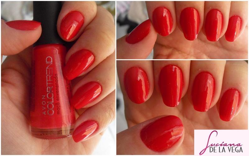 esmalte vermelho, esmalte laranja, esmalte coral, verniz, polishnail, red, avon, color trend