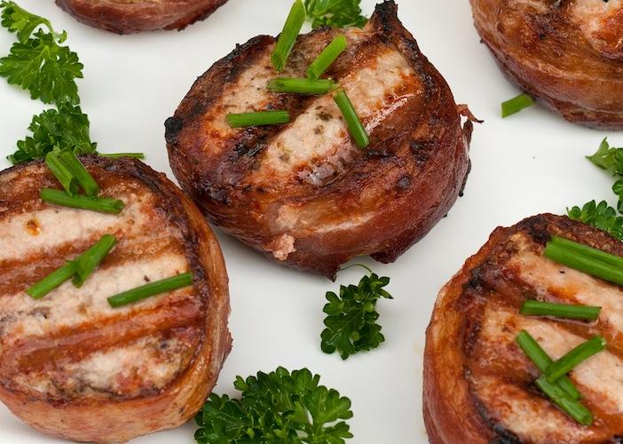Bacon Wrapped Pork Tenderloin Medallions | Art and the Kitchen