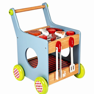 New Stylish Portable Folding Kitchen Play Set Toy