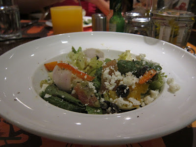 Green Salad with Feta at Cafe Mangii Pune