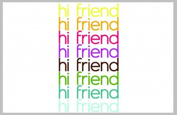 hi friend - Cool Graphic