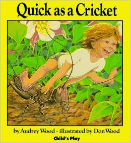 http://www.amazon.com/Quick-Cricket-Childs-Play-Library/dp/0859533069/ref=sr_1_1?s=books&ie=UTF8&qid=1426880149&sr=1-1&keywords=quick+as+cricket