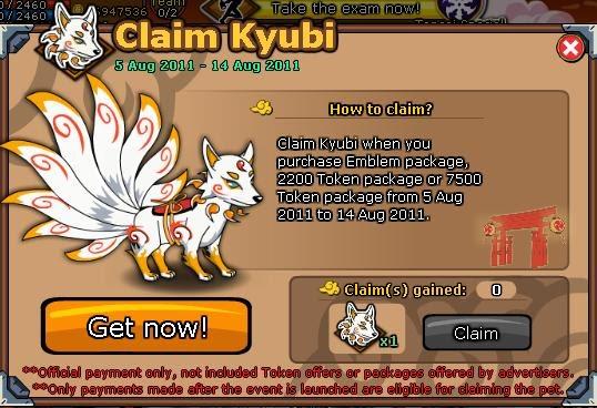 cara claim Pet Kyubi NinjaSaga GRATIS | Claim Pet Kyubi NS | Andri Java: Tetap ...