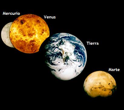 estudiando planetas interiores
