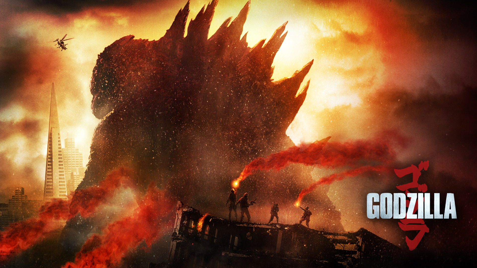 Godzilla 2014 Movie Wallpaper Godzilla Movie 2014 19...