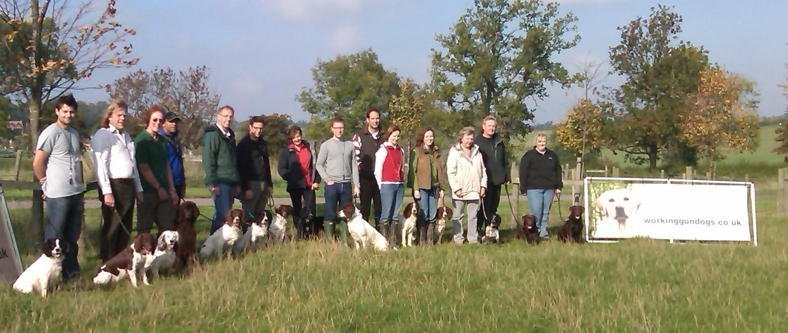 Gun Dog Training Warwickshire