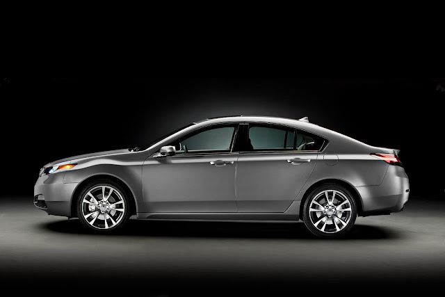 2012 Acura TL Side View