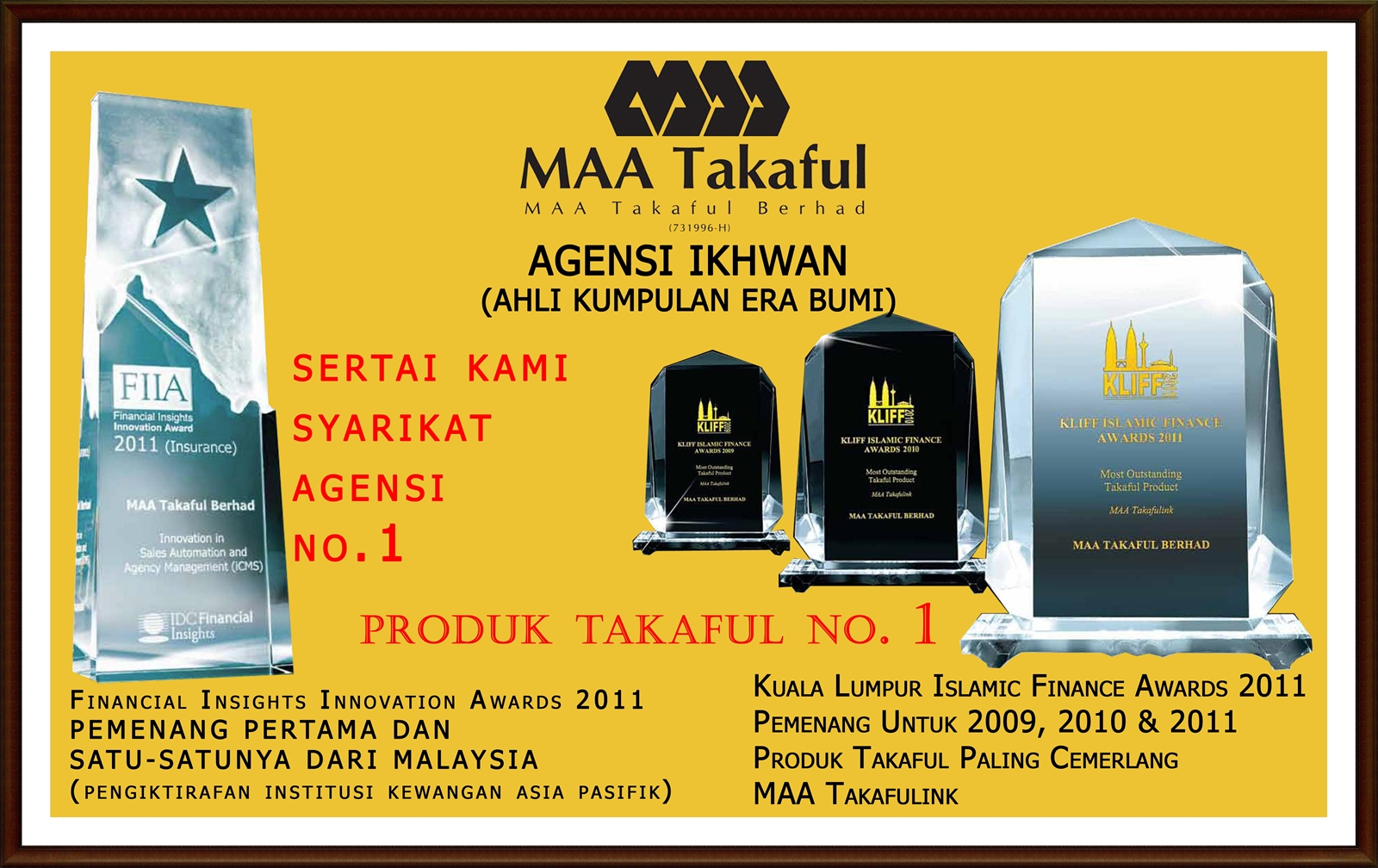 Maa Takaful Berhad Agensi Ikhwan Bhd