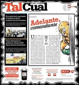 Notidiario de Oscar: Adelante, comandante/Laureano Márquez