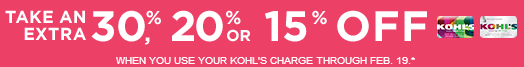 Kohls valentine's day deals 30% off