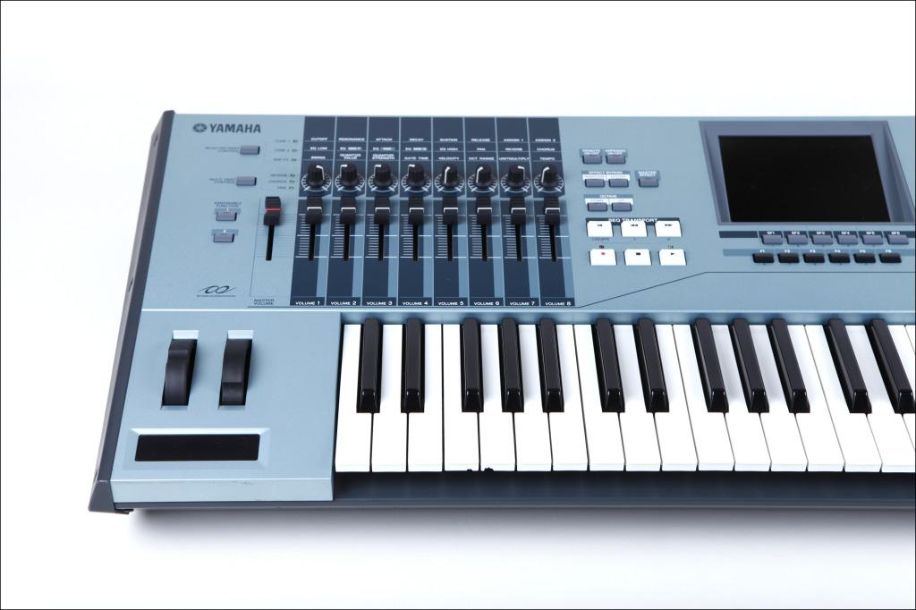 matrixsynth yamaha motif xs6 synthesizer keyboard