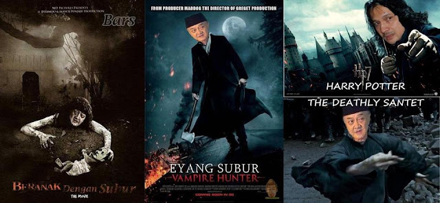 Gambar lucu editan Eyang Subur vs Adi Bing Slamet dkk.