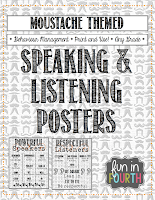 https://www.teacherspayteachers.com/Product/Moustache-Themed-Speaking-and-Listening-Posters-1090903