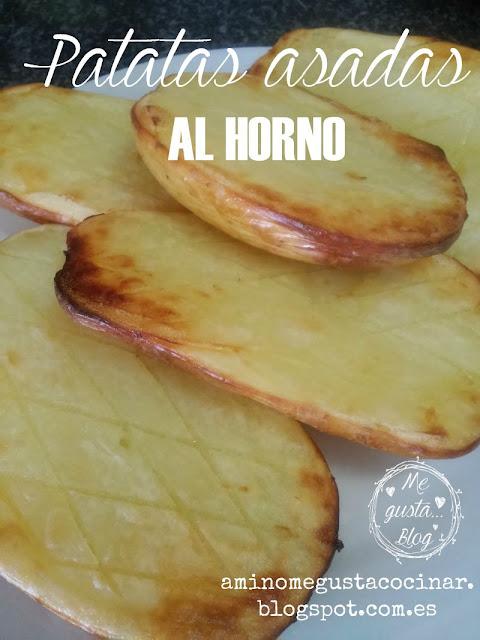 Patatas asadas al horno recetas de cocina for Cocinar patatas al horno
