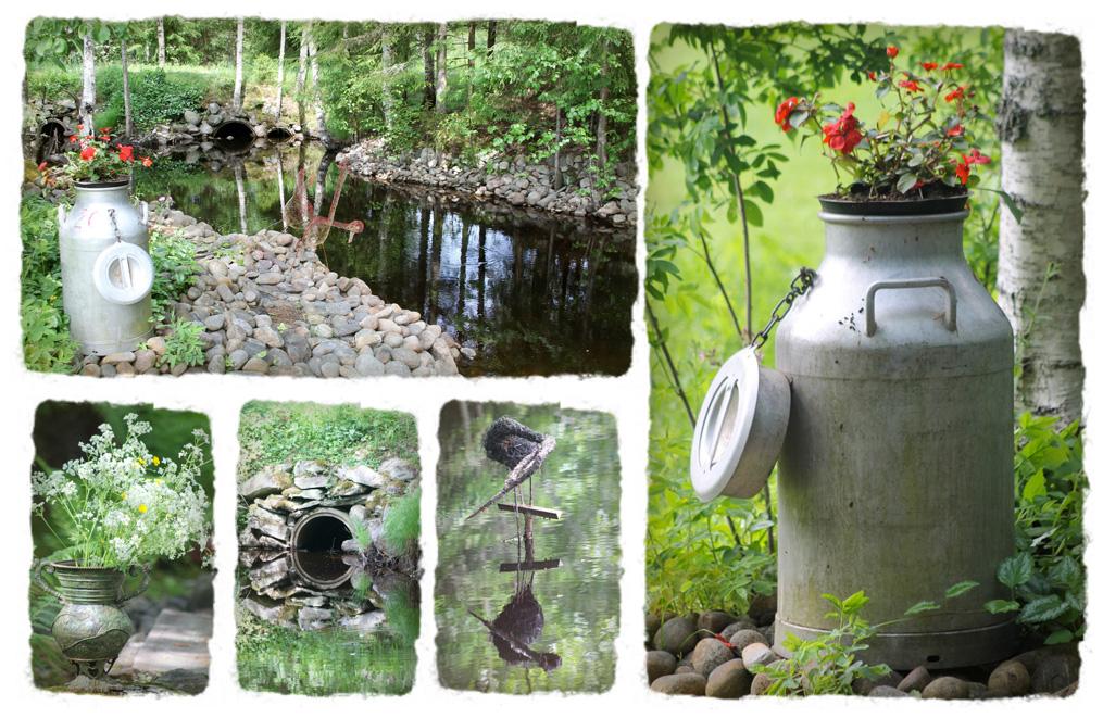 Ideoita pieneen puutarhaan