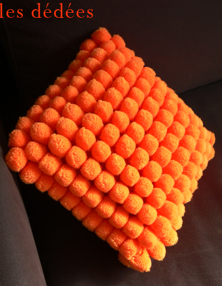... , recup, creations: LE COUSSIN KITCH 70 CEST LE POMPON !