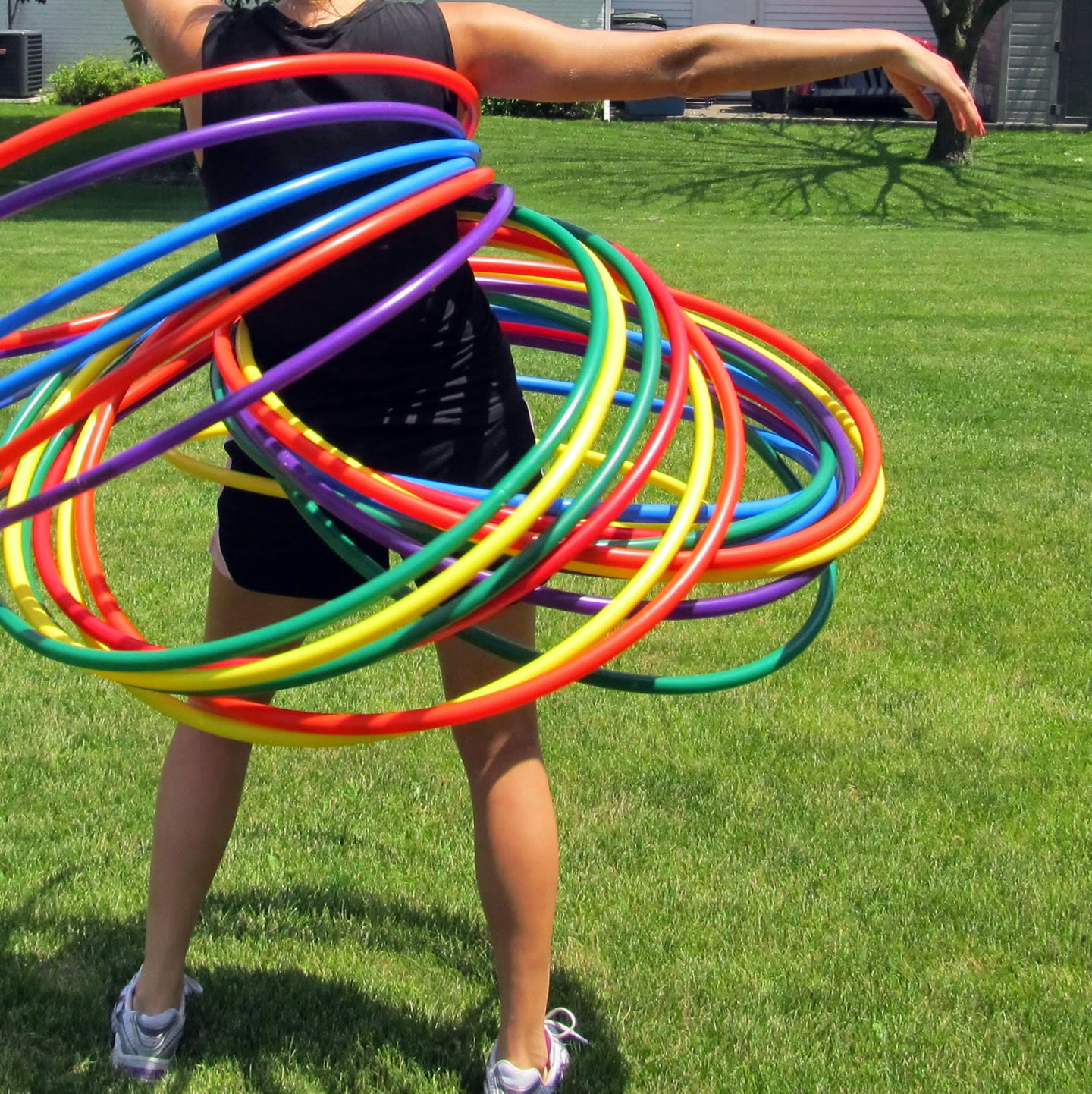 ... do Hula Hoop