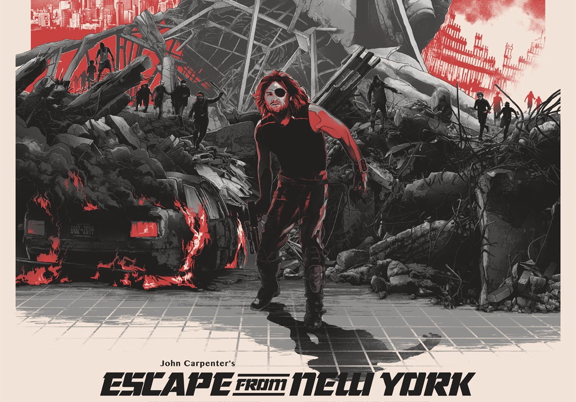 Escape From New York by Gabz & Grey Matter Art