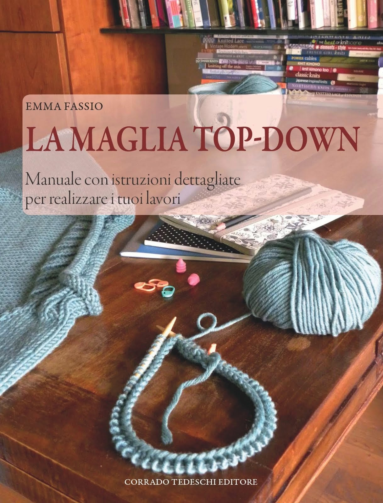 Libro sulla maglia top-down