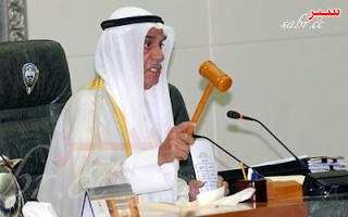 كلمة العم أحمد السعدون بعد اجتماع الأغلبية بديوان حمد المطر 4-7-2012