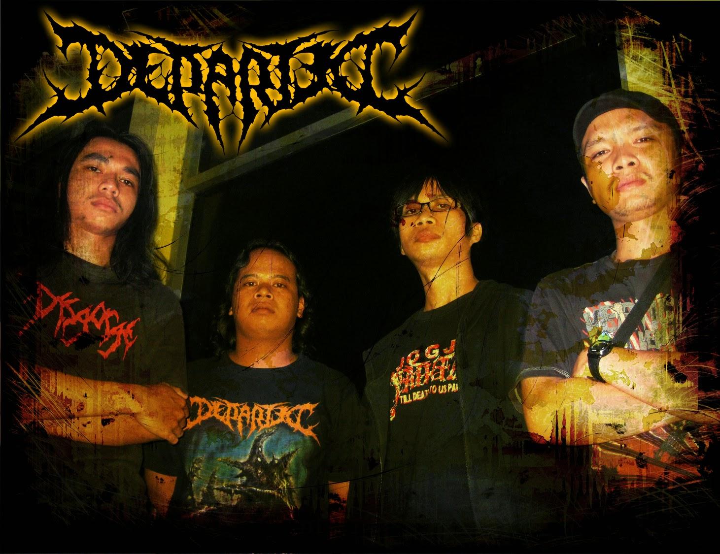 Departed Band Brutal Death Metal Kediri Foto Personil Logo Wallpaper