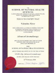 Diploma curs aromaterapie