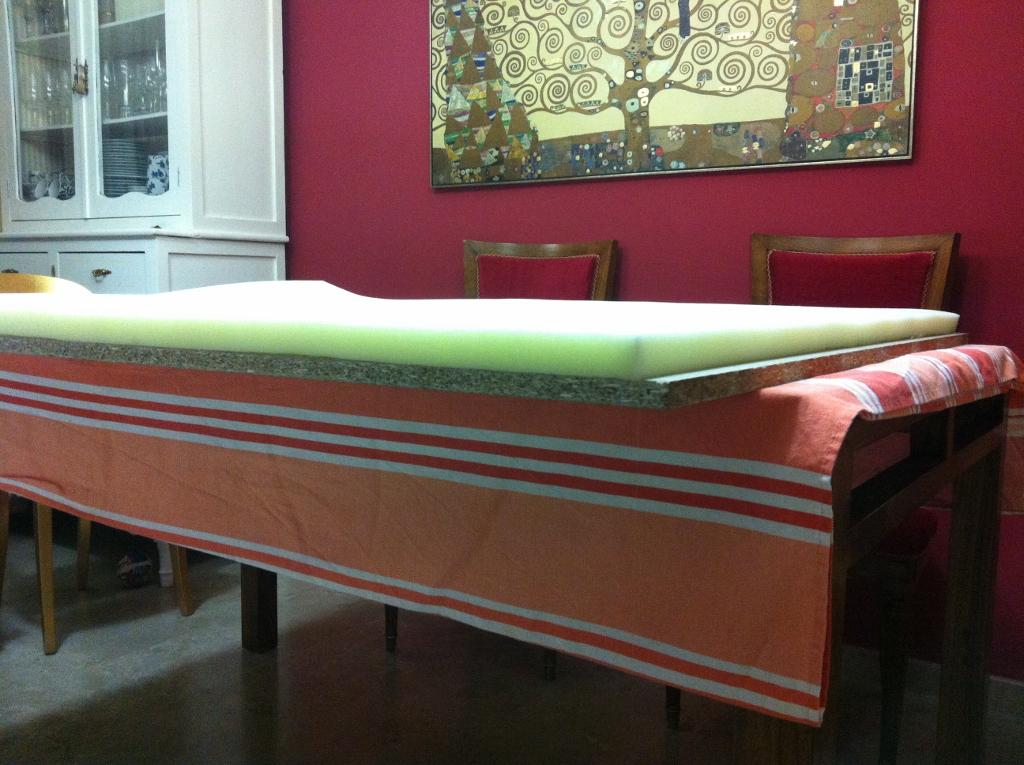 Diy el cabecero tapizado de isabel paso a paso - Hacer cabeceros tapizados ...