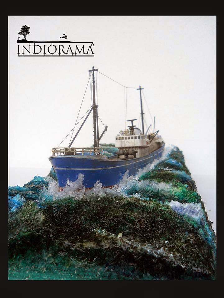 """North Sea Fishing Trawler"""