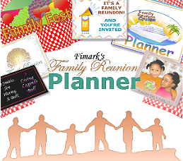 Family Reunion Planner - A Reunion Planning Guide Workbook  and Keepsake