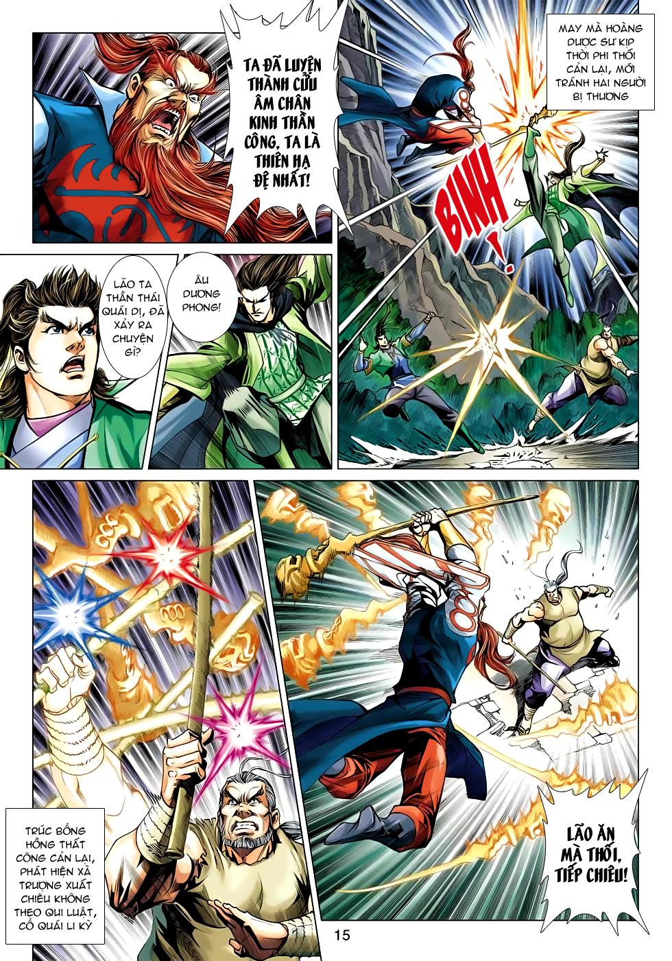 Xạ Điêu Anh Hùng Truyện chap 100 – End Trang 15 - Mangak.info