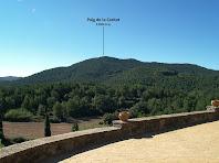 La vessant nord del Puig de la Caritat des de Sant Feliuet de Terrassola